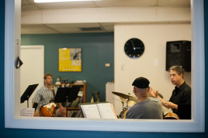 A Session of The Jazz Workshop